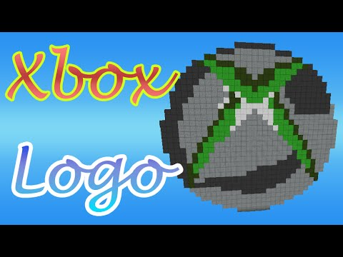 pixel art xbox logo