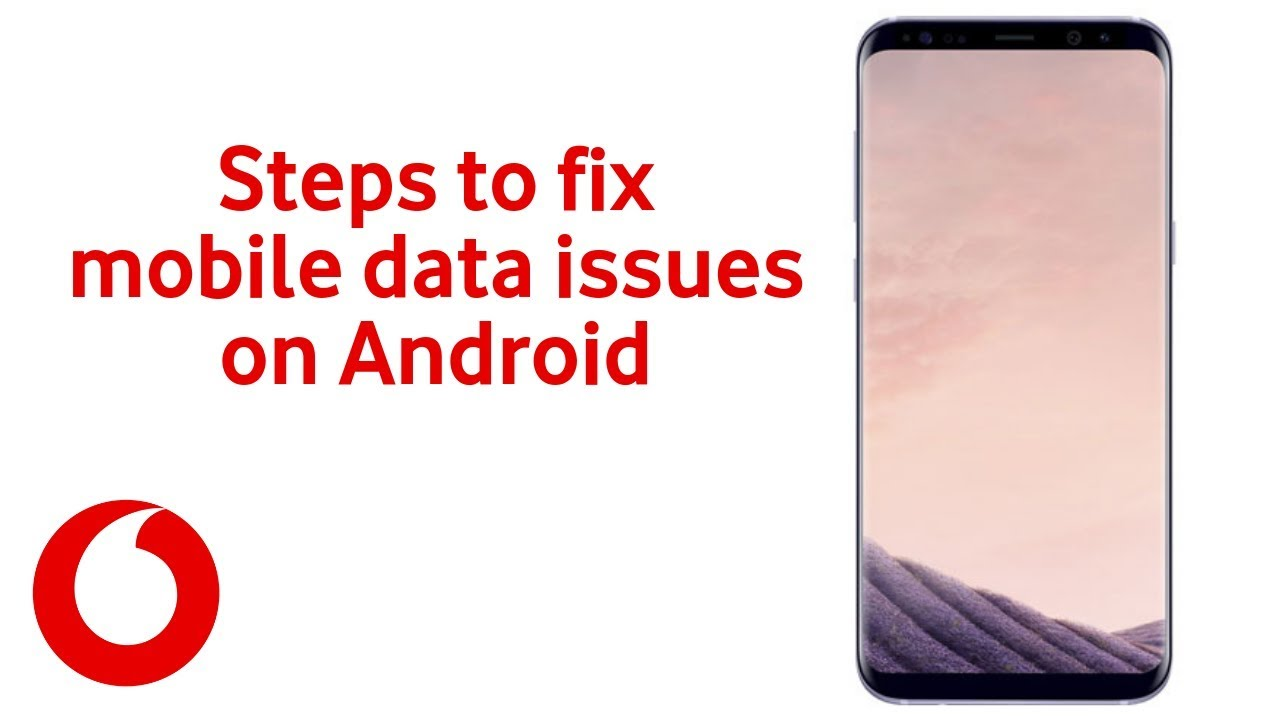 How to fix mobile data issues on Android