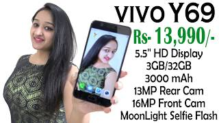 Vivo Y69 Unboxing amp Overview- In Hindi