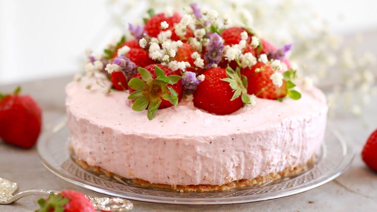 Strawberry Cake Recipe Jamie Oliver: Strawberry Cheesecake Recipe Jamie Oliver