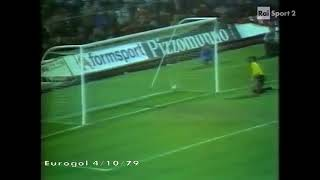 ECCC 1979-80. 1 Round. AC Milan - FC Porto - 0:1. Highlights.