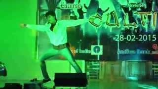 Dance performance at jntuk-ece fest....