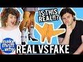 GAME: Real Or Fake Fashion? | Make Thrift Why #3