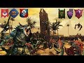 Ultimate Battle of Good vs Evil in the Ruins of Araby - Total War Warhammer 2 Battle Gameplay