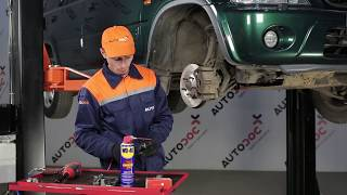 How to change Front Anti Roll Bar Link on HONDA CR-V 1 TUTORIAL | AUTODOC