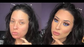 "KYLIE JENNER | Royal Peach Palette ""Glo Up"" Tutorial!"