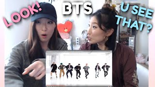 Download lagu BTS  DANCE PRACTICE  'Boy With Luv' SISTERS REACTION | + iHeartRadio Interview