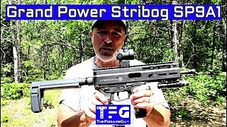 Grand Power Stribog SP9A1 Range Review - TheFireArmGuy