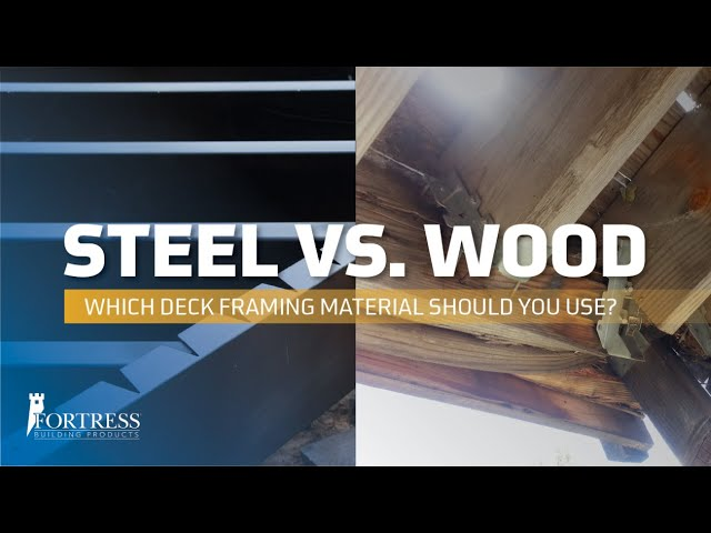 Wood Vs Steel Framing