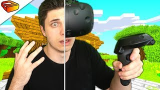 I was TRAPPED in MINECRAFT VR (REAL LIFE)