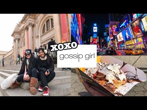VLOG NYC: Dia Nacional de Gossip Girl, melhor waffle do mundo, Central Park, tour do apartamento +
