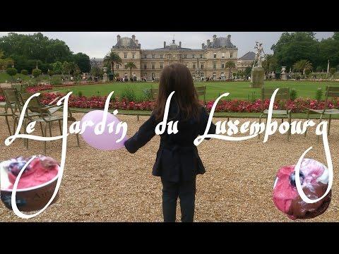 Jardin du Luxembourgリュクサンブール公園にあそびに行ったよ