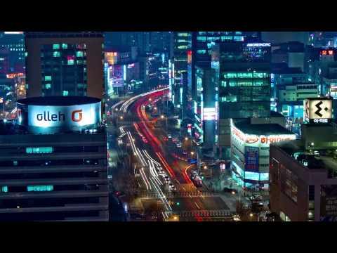Time lapse Daejeon,South Korea