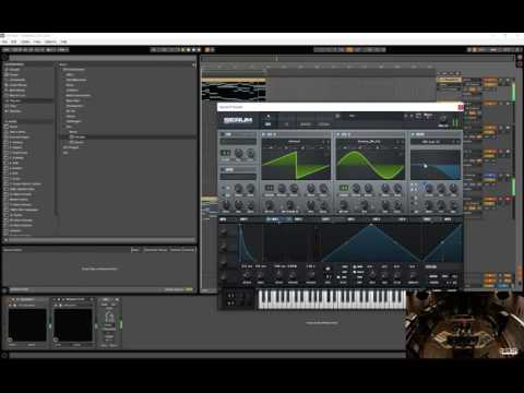 deadmau5 making synth sounds