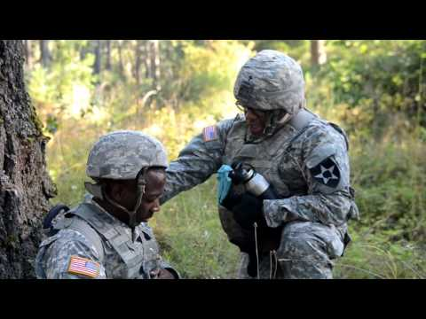 Chaplains conduct mass casualty exercise