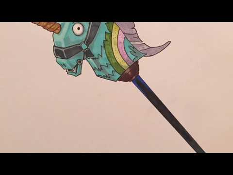 drawing-pioche-licorne-fortnite