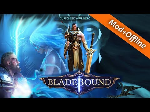Bladebound: hack and slash RPG game Mod+Coins+Offline apk 2018
