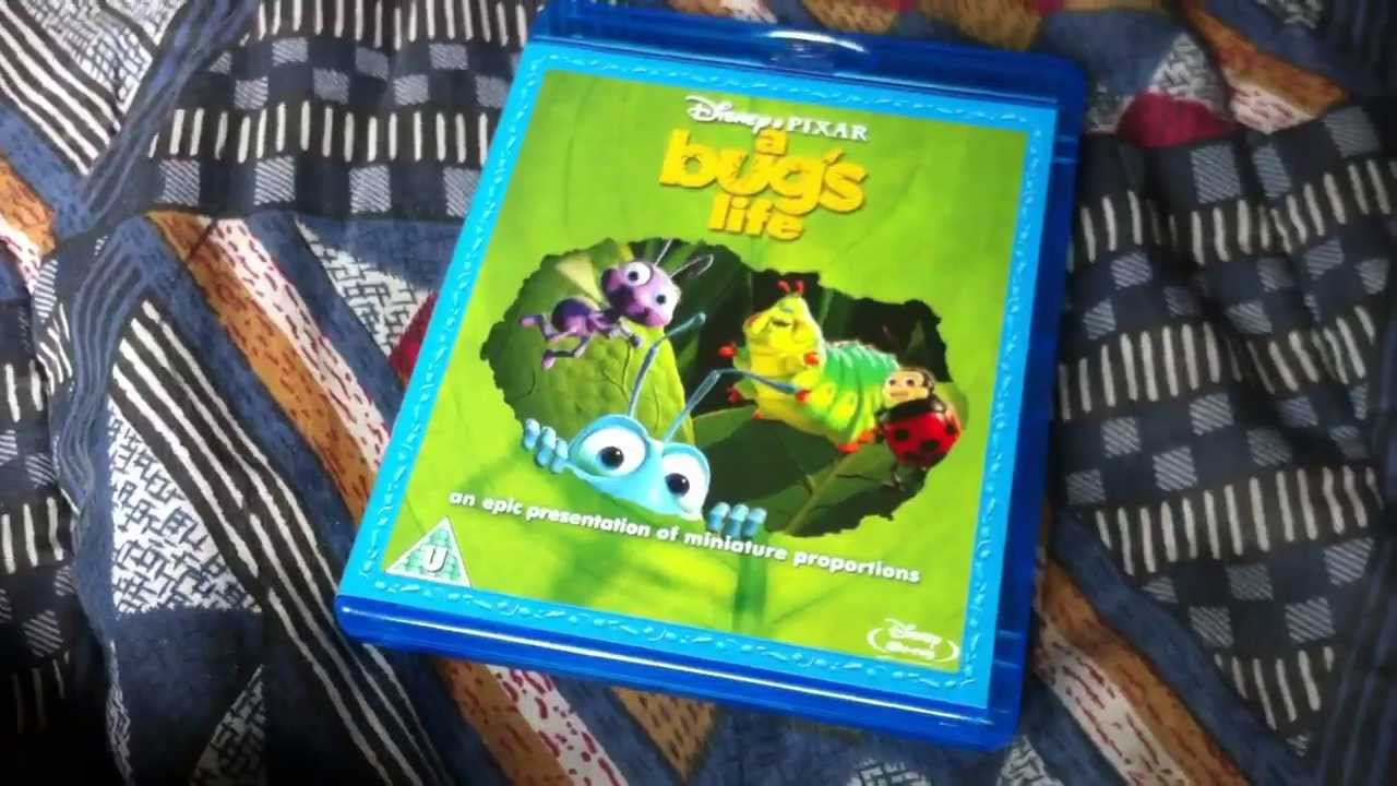 A Bugs Life Blu Ray Unboxing Youtube