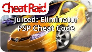Juiced: Eliminator Cheat Code | PSP