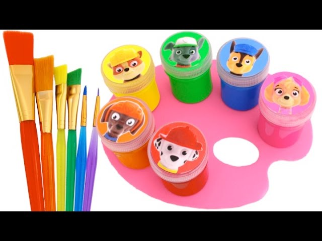 Best Learning Colors Video for Children with Crayons Paw Patrol PJ Masks Mickey Mouse RL