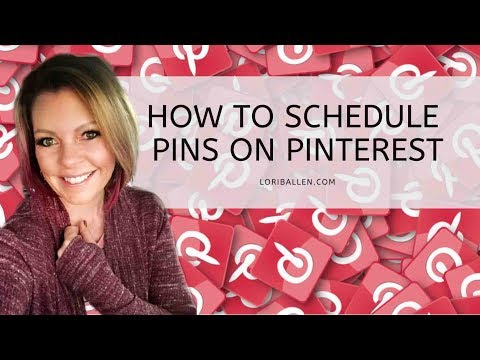 How To Schedule a Pin on Pinterest | Pinterest Marketing 2019 thumbnail