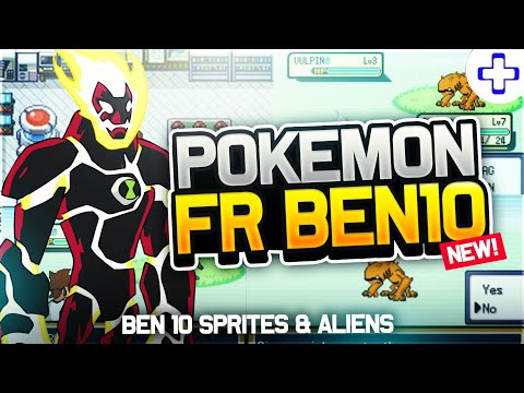 Pokemon Fire Red Ben 10 - GBA Rom Hack with Ben 10 Aliens and Spirtes!