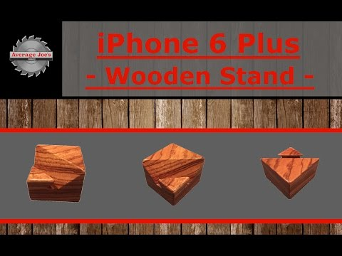 iPhone 6 Plus Wooden Stand