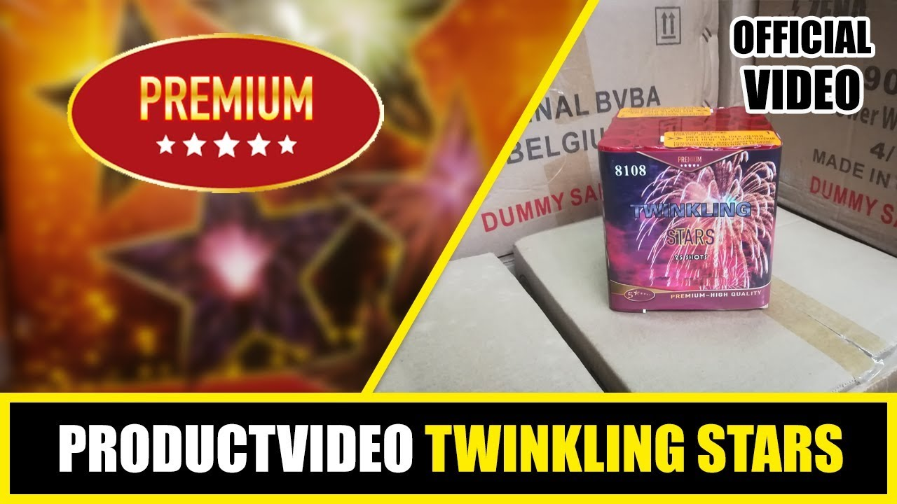 PRODUCT VIDEO | PREMIUM | TWINKLING STARS | 8108