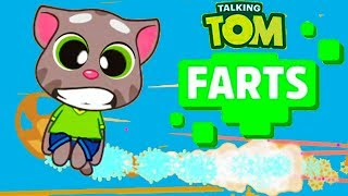 Talking Tom Farts (by Outfit7) Android Gameplay Trailer