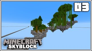 LET'S BUILD AN AWESOME TREE FARM!!! ► MINECRAFT 1.15 SKYBLOCK SURVIVAL ► EPISODE 3