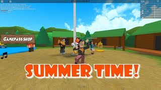 Not This Summer Camp!!!- Roblox Obby