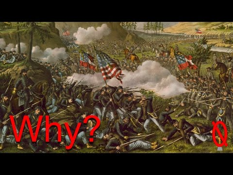 What caused the American Civil War?