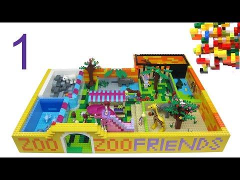Lego Friends ZOO part-1 by Misty Brick.