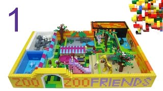 Lego Friends ZOO part-1 by Misty Brick.