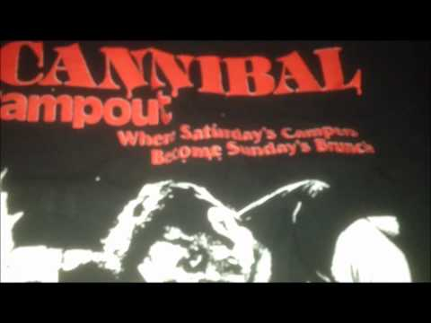 Cannibal Campout T-Shirt by Slashirts!