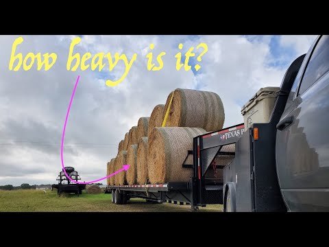 How Much Does A Load Of Hay ACTUALLY Weigh? - Cummins Heavy Haul