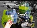 BMW F800GS Givi 333DT windscreen VS Stock with Ride Review