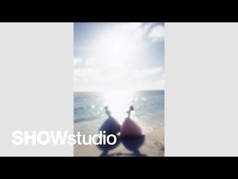 Nick Knight and Amber Valletta discuss shooting together on a beach in Antigua: Subjective