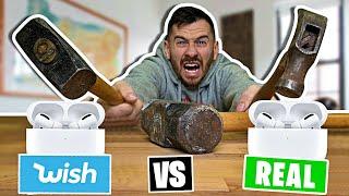 WISH vs. NAME BRAND - Don't Smash The Wrong Item!!