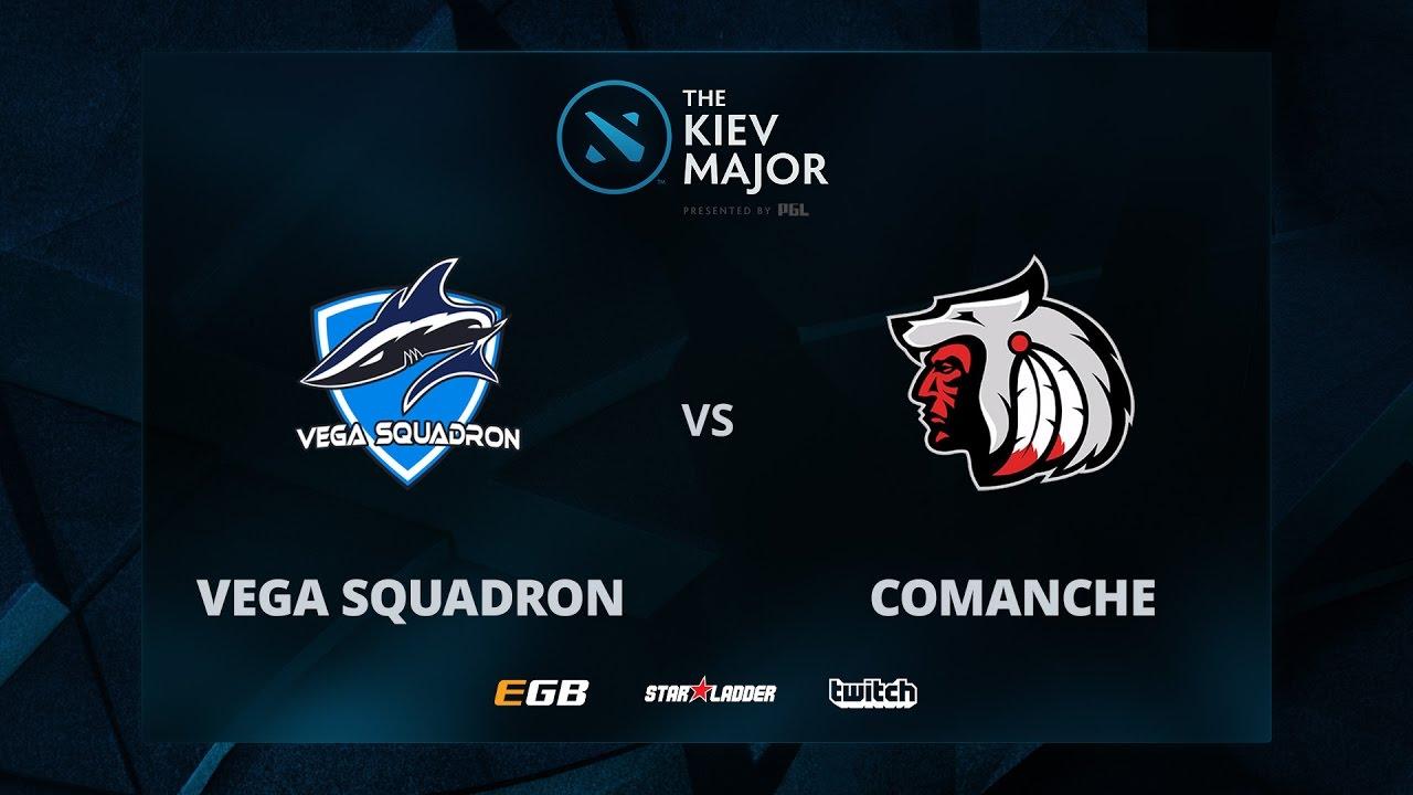 Comanche vs Vega, The Kiev Major CIS Main Qualifiers