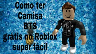 How to have BTS shirt on ROBLOX
