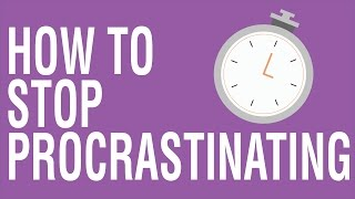 HOW TO STOP PROCRASTINATION - THE 321 RULE