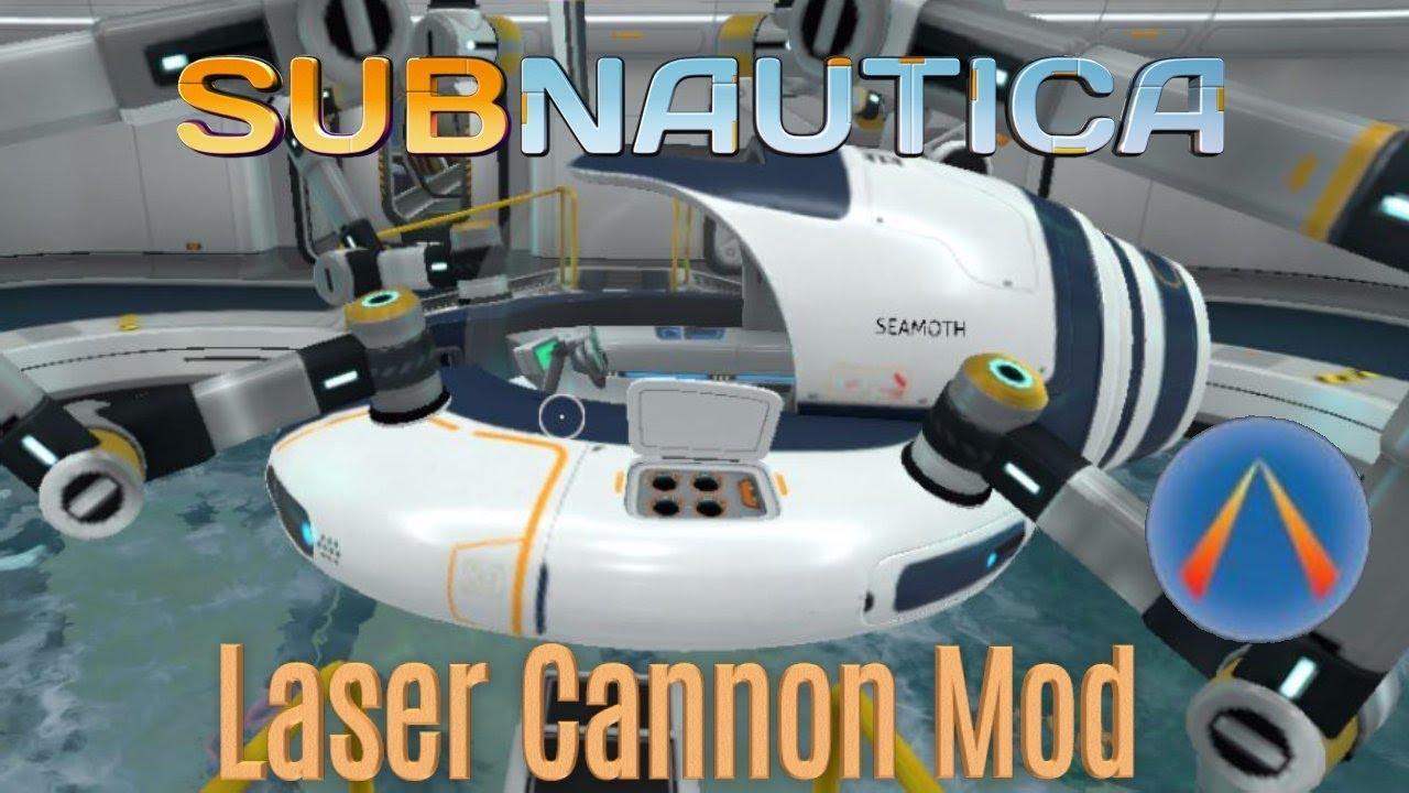 subnautica seamoth laser cannon