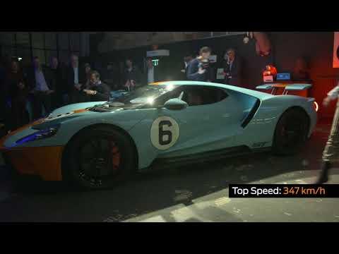 Ford beginnt mit der Auslieferung des Ford GT-Supersportwagens in Europa