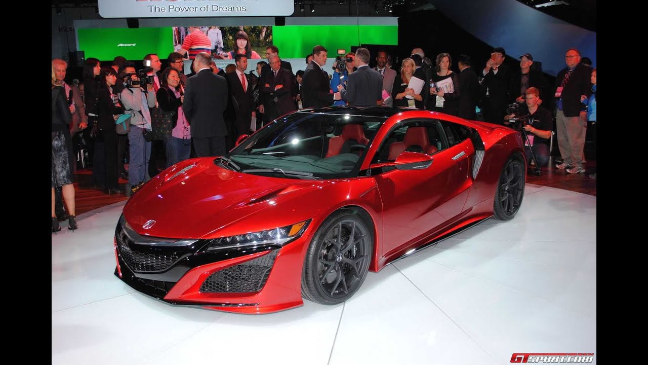 2018 Honda Nsx Youtube