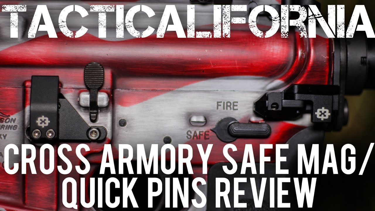 Cross Armory Safe Mag Quick Pins Review Youtube
