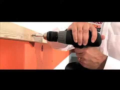 comment visser des mat riaux en bois entre eux youtube. Black Bedroom Furniture Sets. Home Design Ideas