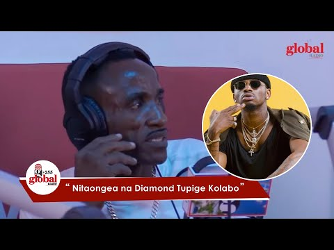 EXCLUSIVE: 'BABA D' ANAONGEA NA DIAMOND AFANYE NAE KOLABO |+255 GLOBAL RADIO