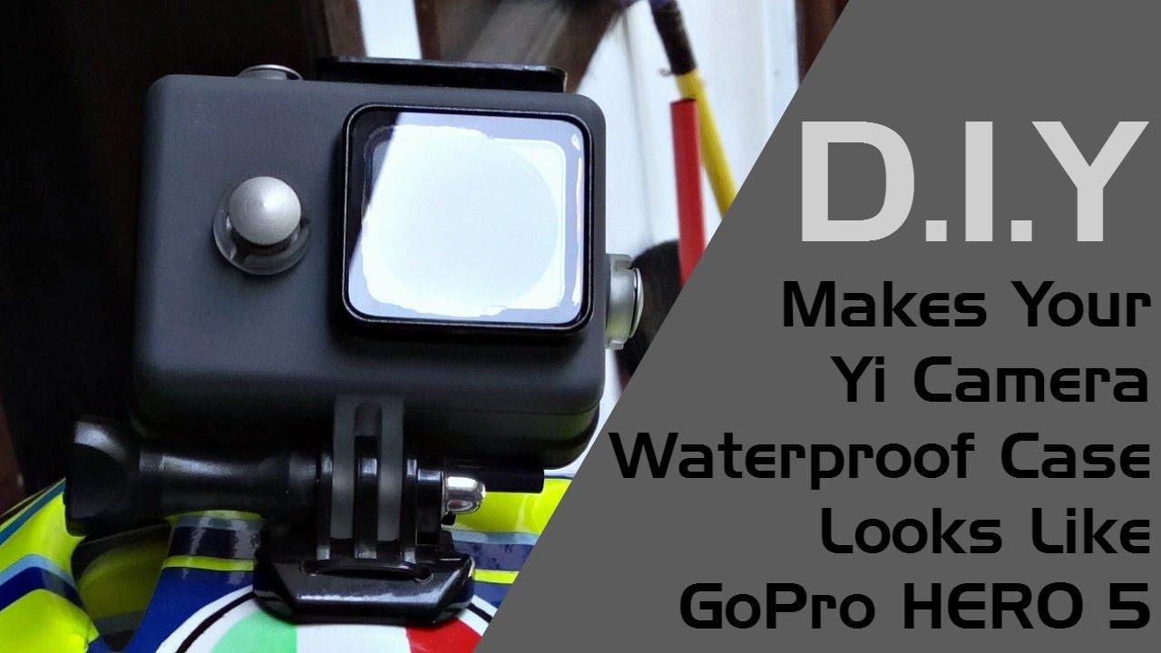Makes Your Xiaomi Yi Waterproof Case Looks Like Gopro Hero 5 Youtube Discovery 4k