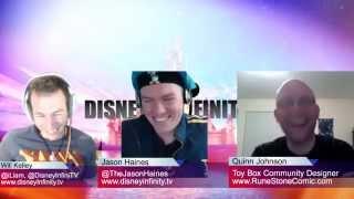 Inside Infinity 64 - Toy Box Designer Quinn Johnson And Disney Originals
